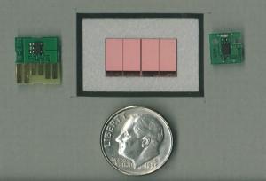 Three Memory Chips