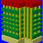 Toshiba's BiCS 3D NAND 2007 diagram