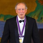 Dr. Robert Dennard Receiving the Kyoto Advanced Technology Prize.  Source: The Inamori Foundation